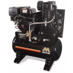 Mi-T-M 30 Gal Gasoline Tank Mount Two-Stage Air Compressor Honda ABS-13H-30H