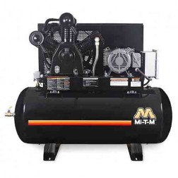 Mi-T-M 120 Gal Electric Two Stage Air Compressor AES-23315-120H