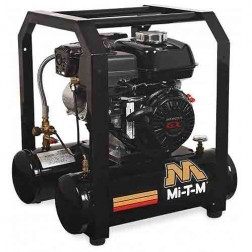 Mi-T-M 5.0 Gal Gasoline Single Stage Air Compressor Honda AM1-HH04-05M