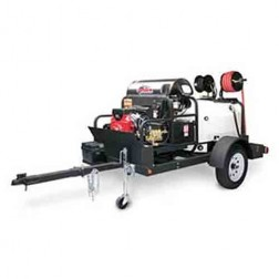 Shark TRS-2500 3500 PSI Gas-Hot Water Trailer Pressure Washer