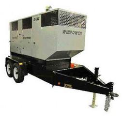 Winco DX130 Mobile Diesel Generator