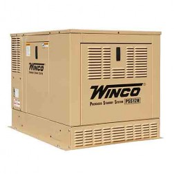 Winco ULPSS12H2W Packaged Home Standby Generator 12KW