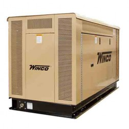 Winco LP Natural Gas 40KW Packaged Standby Generator PSS40LS