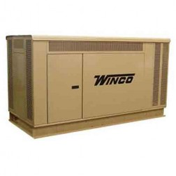 Winco PSS90 90kW Gaseous Standby Generator /Open Skid