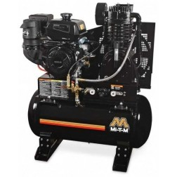 Mi-T-M 30-gallon Two stage Kohler Gas Air Compressor ABS-14K-30H