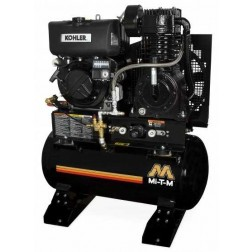 Mi-T-M 30-Gallon Two stage Diesel Air Compressor ABS-9KD-30H