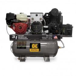 BE Pressure 30 Gal Stationary Compressor/Weld/Gen Combo AC1330HB3000W