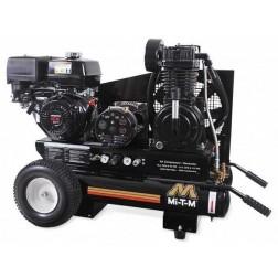 Mi-T-M 8 Gallon Two stage Honda Gas Air Compressor/ Generator Combo AG2-PH13-08M1