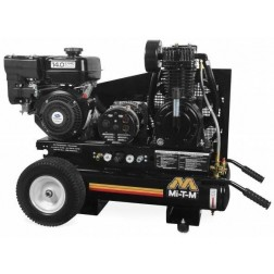 Mi-T-M 8 Gallon Two stage Subaru Gas Air Compressor/ Generator Combo AG2-PS14-08M1