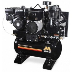 Mi-T-M 30-gallon Two stage Subaru Gas Air Compressor/ Generator/ Welder Combo AGW-SR14-30M