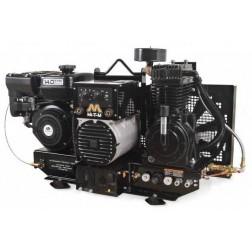 Mi-T-M Base-mount Two stage Subaru Gas Air Compressor/ Generator/ Welder Combo AGW-SR14-B