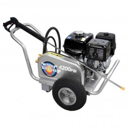 Simpson Aluminum Water Blaster 4200 PSI Gas Belt Drv Honda Power Washer ALWB60828