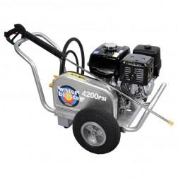 Simpson Aluminum Water Blaster 4400 PSI Gas Belt Drv Power Washer ALWB60825