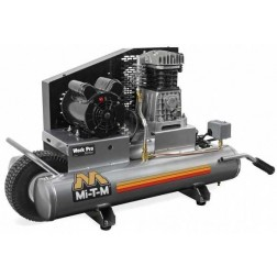 Mi-T-M 8-gallon Single stage Electric Air Compressor AM1-PE15-08WP
