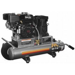 Mi-T-M 8-gallon Single stage Honda Gas Air Compressor AM1-PH06-08WP