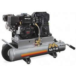 Mi-T-M 8-gallon Single stage Honda Gas Air Compressor AM1-PH65-08WP