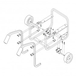 Gillette G1Two-Wheel Dolly Kit
