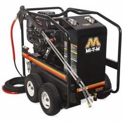 Mi-T-M 3500 PSI Gasoline Direct Drive Hot/Cold Pressure Washer HSP-3504-3MGK