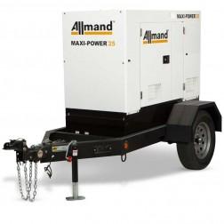 Allmand Maxi-Power 25 T4F Diesel Isuzu 25kVA Generator