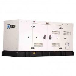 Wanco WSP125 123 kVA / 100 kW  Generator/Skid Mounted