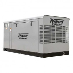 Winco ULPSS60-3 60kW Gaseous Standby Generator/ Enclosed
