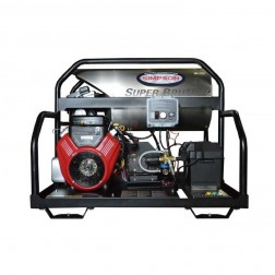 Simpson Super Brute 3500 PSI B&S Gas Hot Power Washer SB3555
