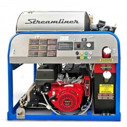 Delco Streamliner 65018 4000 PSI Honda GX390-ES Gas Engine/Diesel Burner Hot Pressure washer