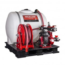 "BE Pressure WS1525SKID Gas 1.5"" Wildland Series Water Pump w/Skid Unit"
