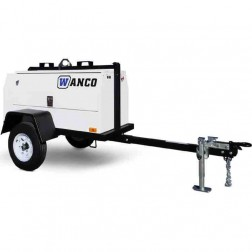 Wanco WSP8-1 7.2KW Single phase Mobile Generator