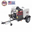 Simpson Cold Water Cleaning Trailer Sys Low-Prez 75' Hose Reel 1B-95006