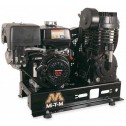 Mi-T-M Base-mount Two stage Subaru Gas Air Compressor ABS-14S-B