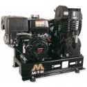 Mi-T-M Base-mount Two stage Subaru Gas Air Compressor ABS-14S-B