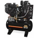 Mi-T-M 30-gallon Two stage Subaru Gas Air Compressor ABS-14S-30H