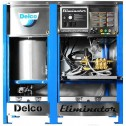 Delco Eliminator 65044 3000 PSI 460V 3-Phase Electric Motor /NG Burner Hot Pressure washer