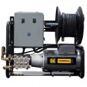 BE Pressure X-2050FW1GENHT 2000PSI Wall mount Hot Electric Pressure Washer