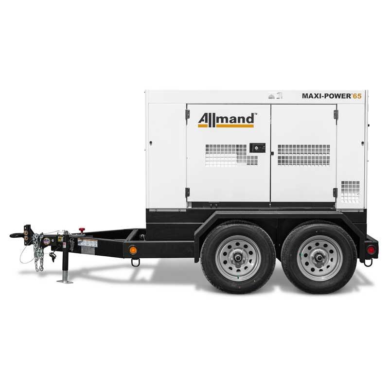 Allmand Maxi Power 65 T3 Diesel Isuzu 65kVA Generator